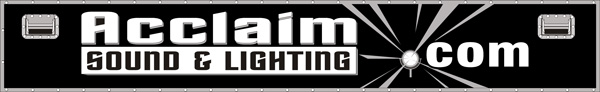 Welcome to Acclaim Sound and Lighting Canada!
